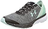 Under Armour UA W Charged Escape, Chaussures de Running Compétition Femme, Gris