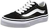 Vans Old Skool, Baskets Basses Mixte Enfant, Black/True White