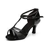 VESI-Chaussures de Danse Latine Talons Hauts Sandales pour Femme