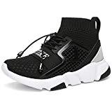 VITIKE Garçon Fille Chaussure de Course Chaussures de Multisports Outdoor Sneakers Mode Basket Chaussure Scolaire l'École pour Enfant Running Compétition ...