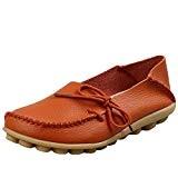Vogstyle Mocassin Femme Casual Plat Tout-Match Chaussures Sandales