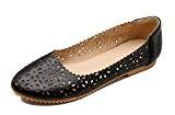 VogueZone009 Femme Rond Semelle Antidérapage Tire Chaussures Légeres