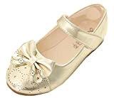 WUIWUIYU Fille Chaussure Princesse Ballerine Sandale Cérémonie Mariage