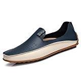 Yaer Mocassins de Conduite Premium Classic Pour Hommes, Slip On Mocassins en Cuir été Chaussure Bateau EU39-EU47