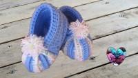 Chaussons pour bébé - Crochet