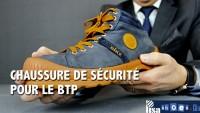 CHAUSSURE DE SÉCURITÉ POUR LE BTP