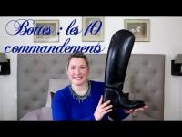 Bottes : les 10 règles à respecter