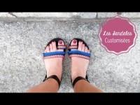Des Sandales Customisées | DIY